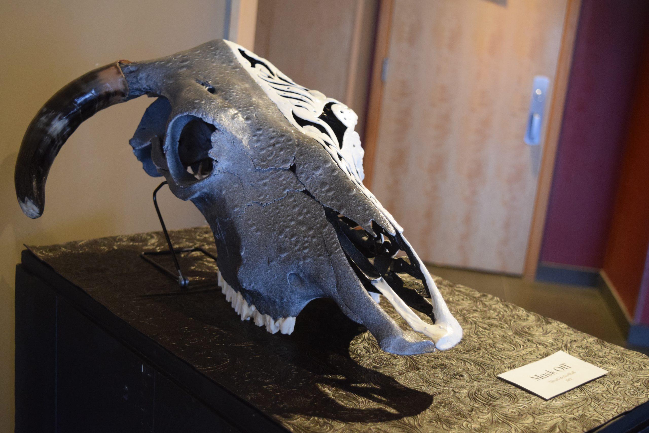 cow skull art 11