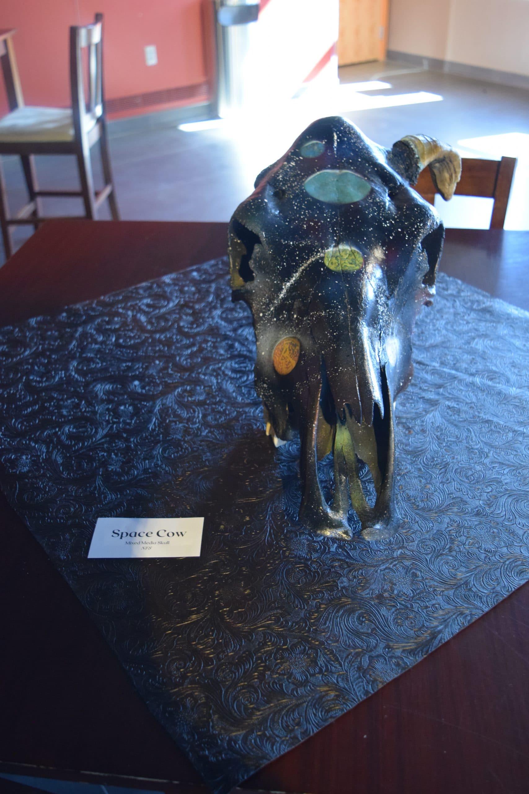 cow skull art 19