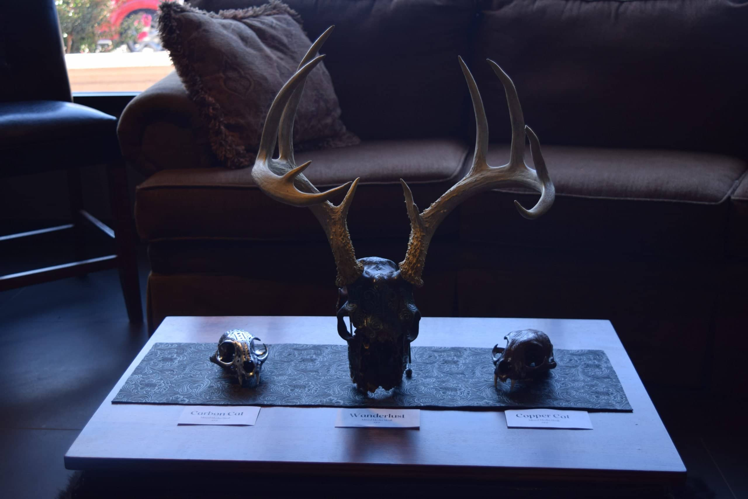 cow skull art 5
