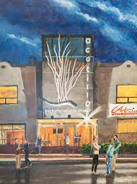 Painting of Artesia Arts Council Building